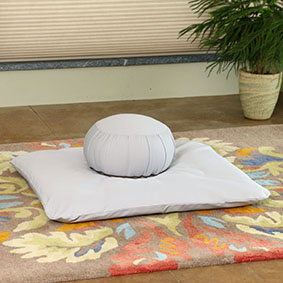 Zabuton Floor Cushions : Zafu Zabuton Meditation Cushion Set Samadhi Cushions