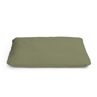 Zabuton with Natural Fabric Cover Standard 4.5 inch loft