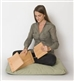 Portable Kneeling Meditation Bench Set or Zen Seiza Bench