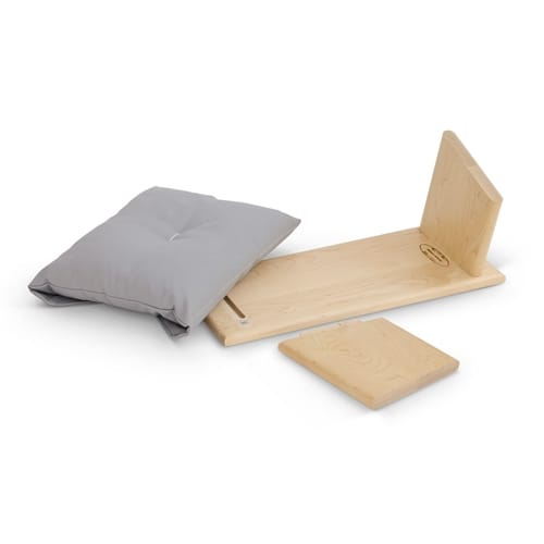 folding seiza bench hingeless with cushion samadhi cushions