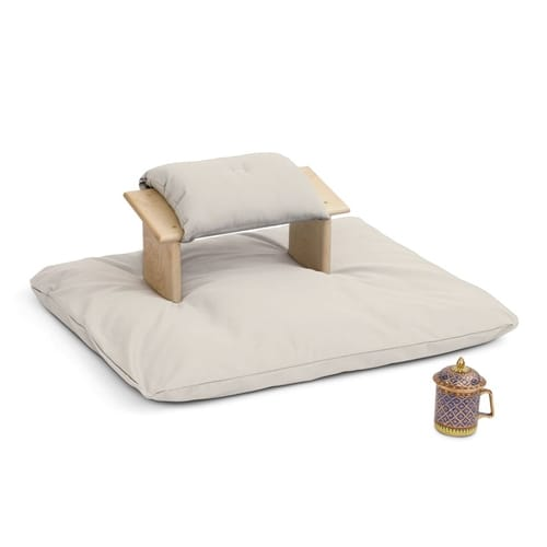 Kneeling Meditation Bench Set - Rounded Legs