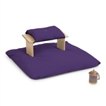 Kneeling Bench Set PLUS w Jumbo Zabuton