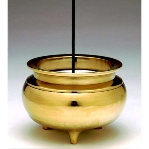 Brass Incense Bowl for Burning Stick Incense