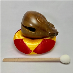Mokugyo (Kissing Fish) wooden gong