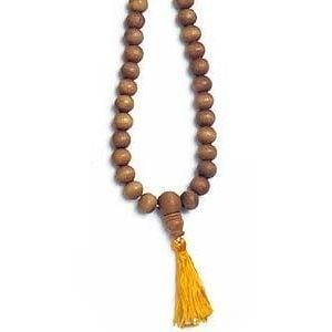 Sandalwood Mala (Large, 10 mm beads)