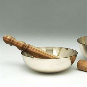 Singing Bowl with Striker, 5 inches