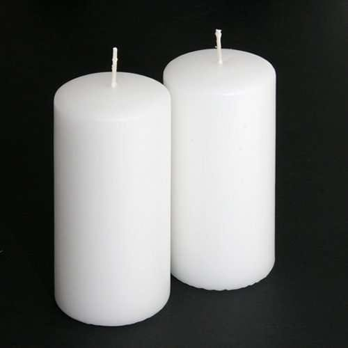 Unscented Pillar Candle, 6 inches