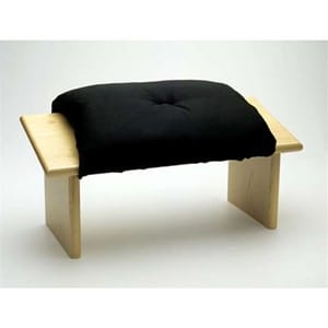 Meditation Stool [zen Black] by at Wisdom Books