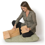 Portable Kneeling Meditation Bench