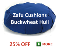 Buckwheat Zafu Cushions ON SALE