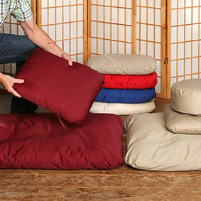 Meditation and Yoga Pillows for your Meditation Seat