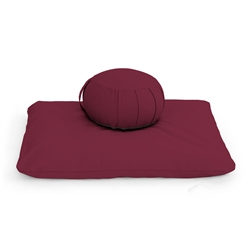 Kapok Zafu Meditation Cushion Set