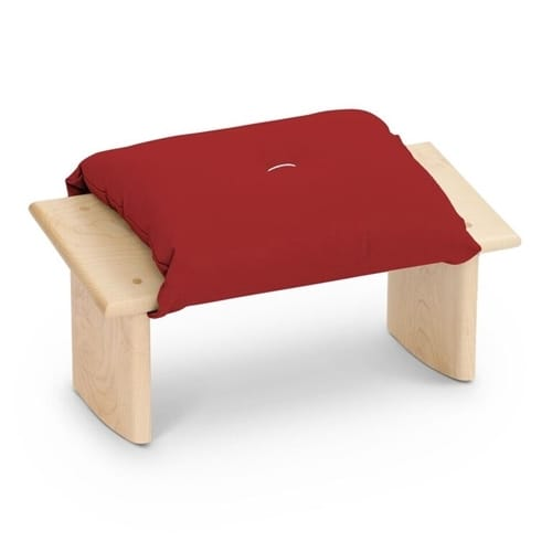 Tilting Kneeling Meditation Bench with Cushion