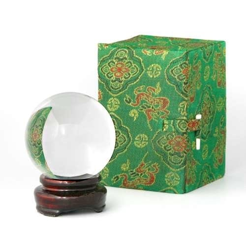 60 mm (2 1/3 inches)  Crystal Ball