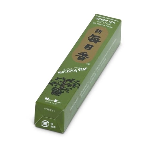 Morning Star Green Tea Incense Small