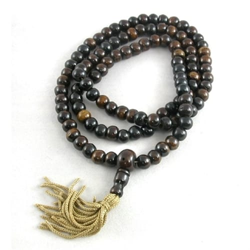 Bone Brown Mala