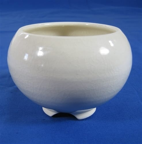 Ceramic Incense Burner (Ivory Glazed)